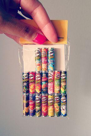 Miniature Pringles