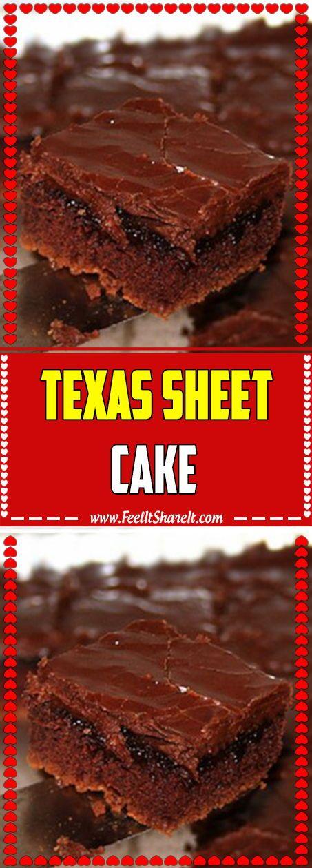 texanischer Schichtkuchen   – ✨ Excellent Quick & Easy Healthy Dessert Recipes On a Budget
