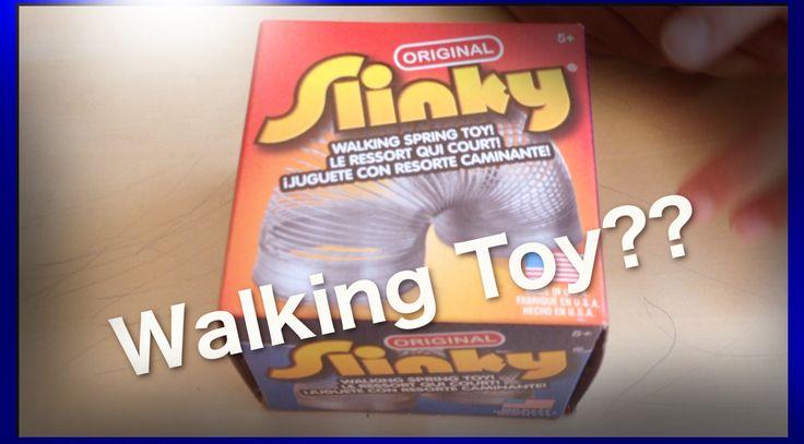 Can a slinky really walk?