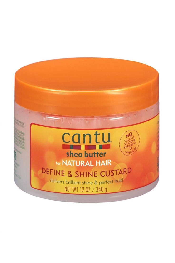 Cantu Shea Butter for Natural Define & Shine Custard