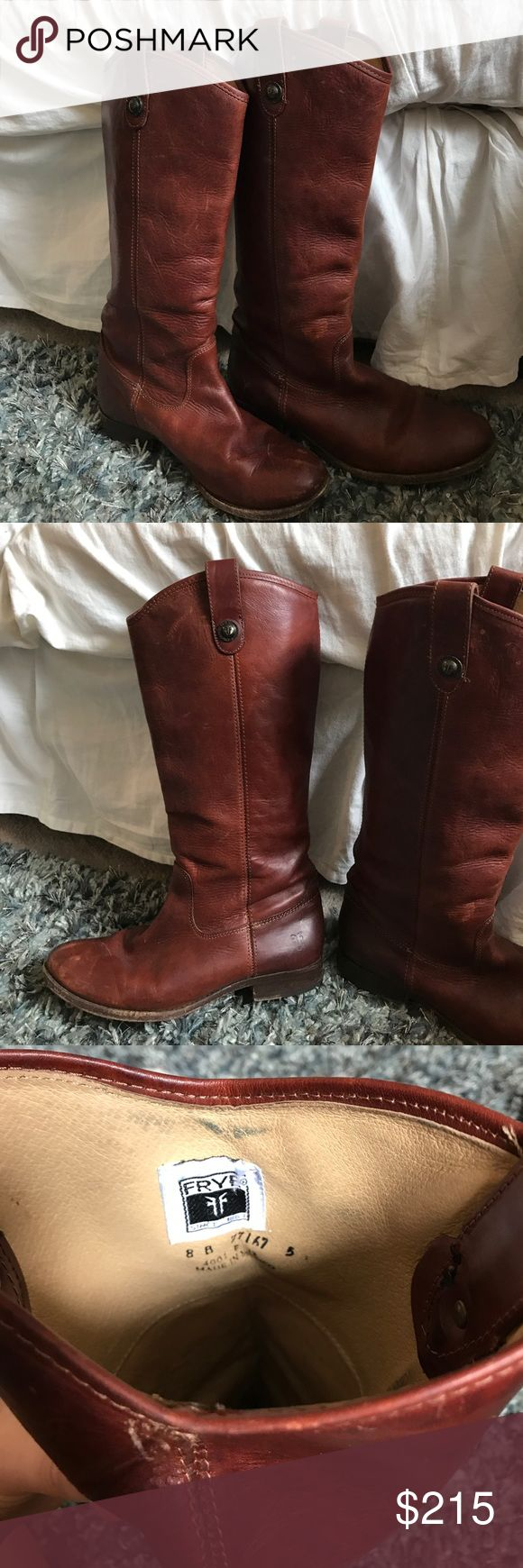 Frye Melissa Boots Hand crafted authentic Frye boots Frye Shoes