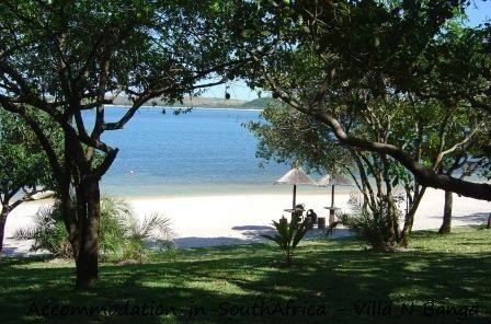 Beautiful beach at Villa N'Banga. Accommodation in Mozambique. Villa B'Banaga accommodation.