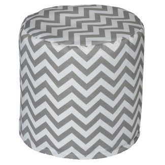 Mercury Row® Arcadios Chevron Bean Bag Ottoman