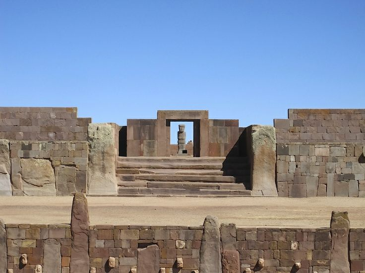 Tiwanaku (Bolivia). 'Bolivia's hallmark archaeological site   sets your imagination on fire. Despite  lacking the power and prestige of other ruins in  Latin America – those who have visited Machu  Picchu or Tikal will be hard-pressed not to  strike comparisons – this pre-Inca site has a  lot to offer.' http://www.lonelyplanet.com/bolivia/sights/archaeological-site/tiahuanaco-tiwanaku