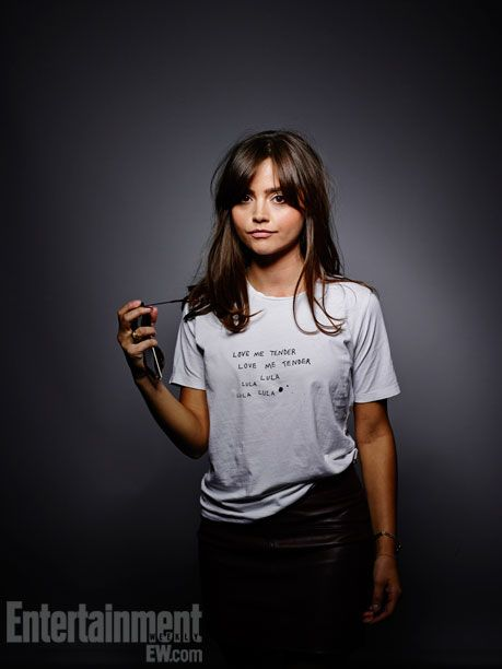 Jenna-Louise Coleman - Comic-Con '13 Star Portraits. Love her hair!!!