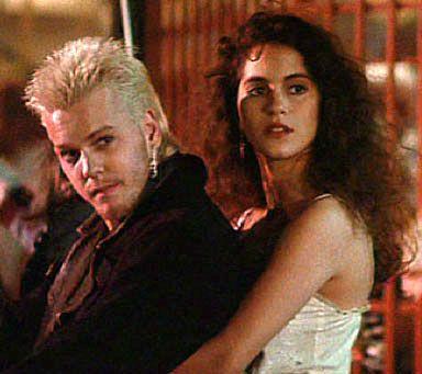 The   Lost Boys  (1987) - David & Star  ( Kiefer Sutherland & Jami Gertz )