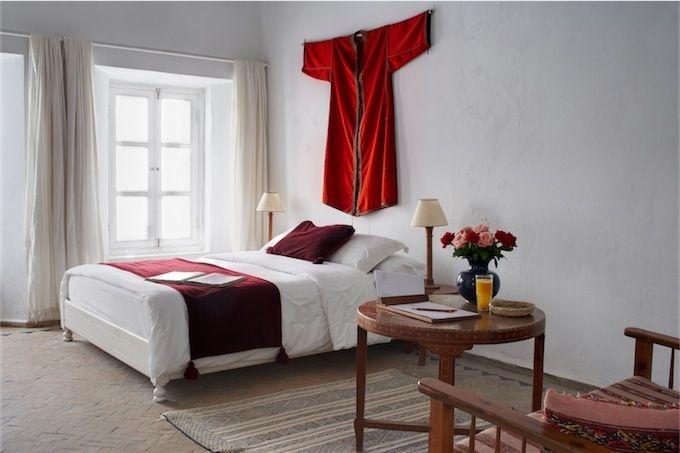 Bohemian hotel room decor @ http://www.villa-maroc.com/