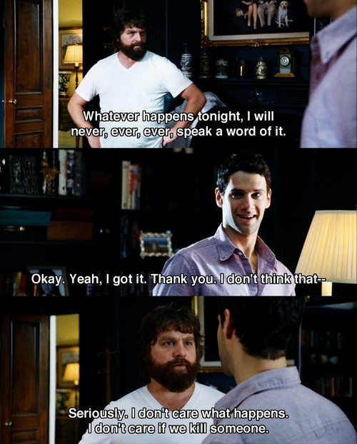 Comedy Movies .. The Hangover
