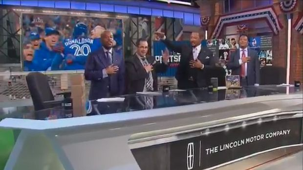 """BarDown: TBS panel sings """"O Canada"""" in its entirety after Blue Jays win"""