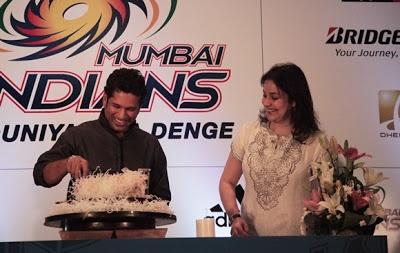 Sachin Tendulakar Celebrates 40th Birthday with Anjali