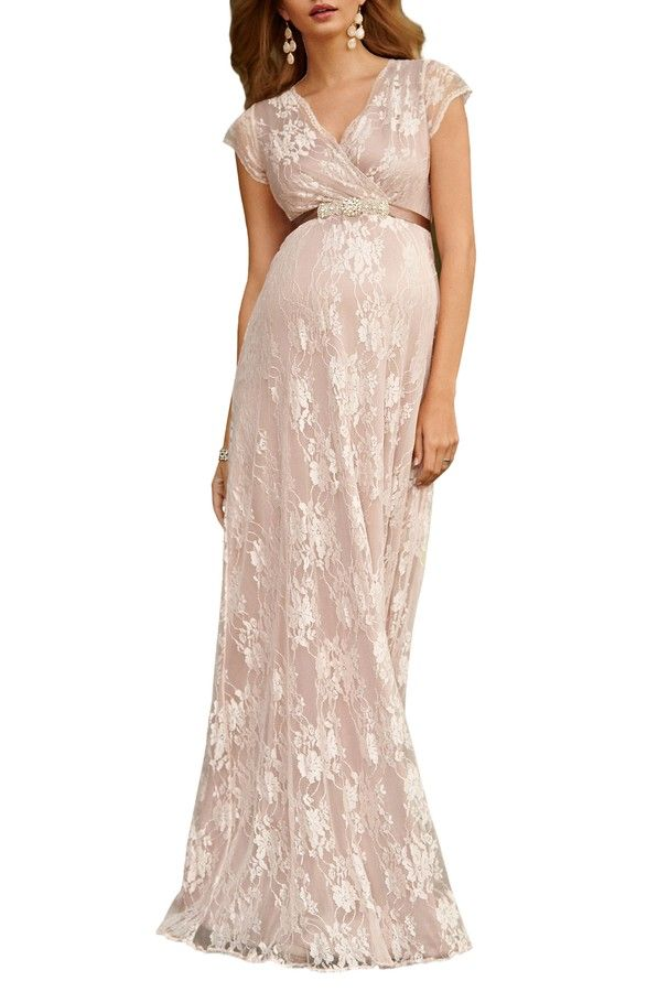 5e8225d4046cc Tiffany Rose Eden Lace Maternity Gown blush maternity wedding dress pink bridesmaid  dress bridesmaids dresses