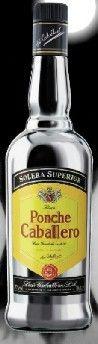 """Ponche Caballeor liqueur claims to be the largest selling liqueur in Spain, commanding an 80% marketshare (April, 2013). The """"ponche"""" is """"punch"""" and a dense, fruit-forward liqueur.  Ponche Caballero es el licor más consumido en España y una de las diez bebidas espirituosas con mayor volumen de ventas. Esta marca ostenta el 85% de las ventas de la categoría de ponche."""