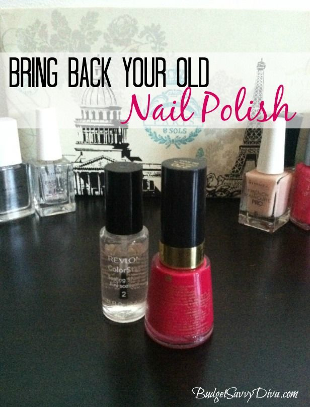 How to bring back old nail polish bottle other and for How to renew old nail polish
