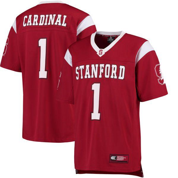 #1 Stanford Cardinal Colosseum Hail Mary Football Jersey - Cardinal - $54.99