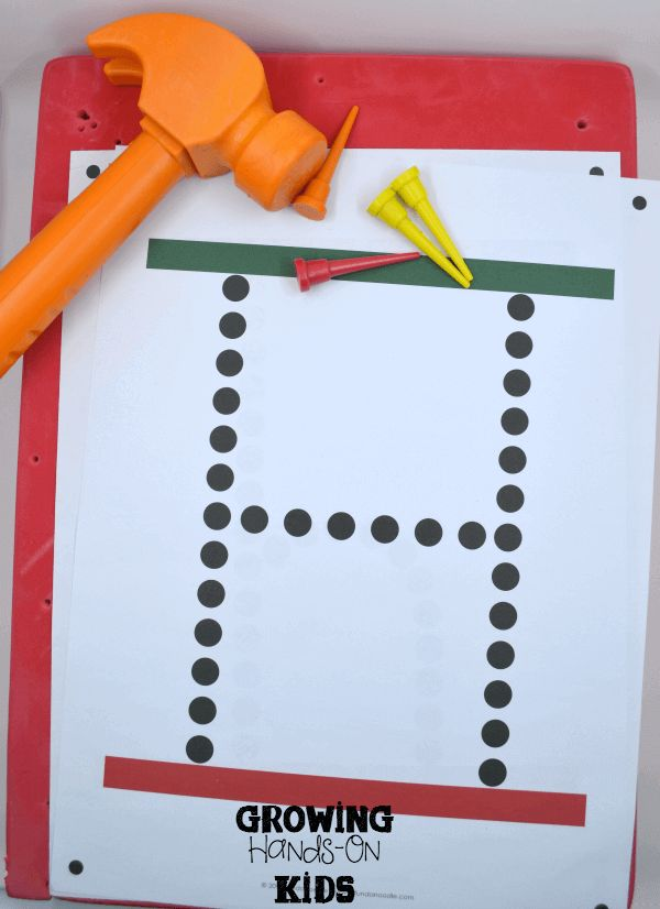 letter h activities for tot school
