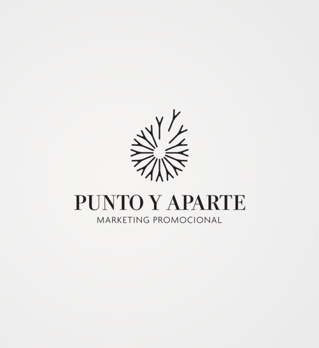 Atipus - Punto Y Aparte logo Again, like the circle logo... don't really like the font on this one.