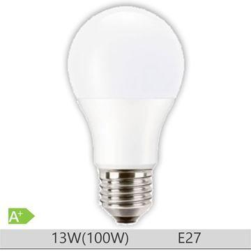 Bec LED PILA 13W E27 forma clasica A67, lumina neutra  http://www.etbm.ro/becuri-led