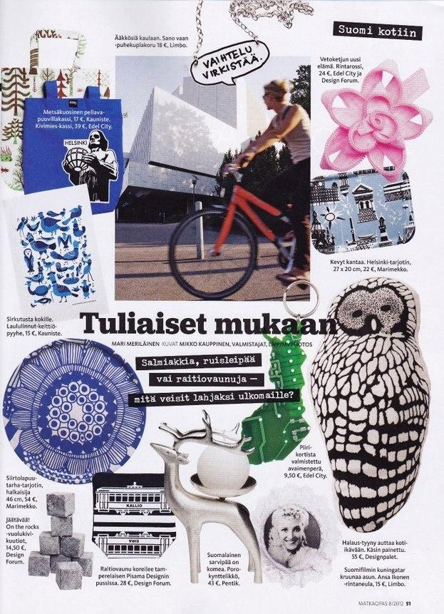 Matkaopas -magazine 2012