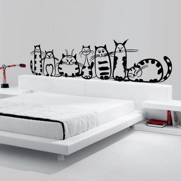 silueta gato pared - Buscar con Google