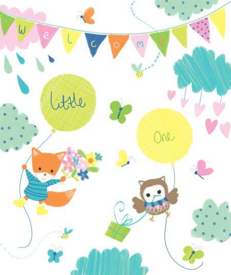 Melanie Mitchell - Melanie Mitchell, Baby Fox Owl Gift Bag