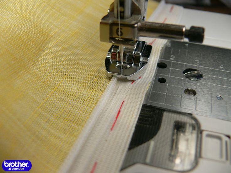 Как шить лапкой для потайной молнии