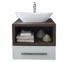 Mondego American Wallnut Single Vanity 500x600x534mm R3700