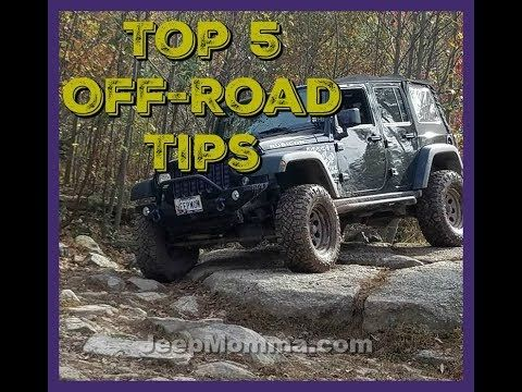 Cool Jeep Stuff - Top 5 Off-Road Tips - Justice Off-Road - Jeep Momma's Garage Episode 3