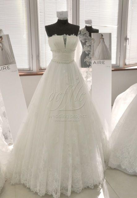 AIRE BARCELONA Ray Talla 12 $2,000.00 Vestidos de novia de segunda mano de diseñadores reconocidos en Costa Rica
