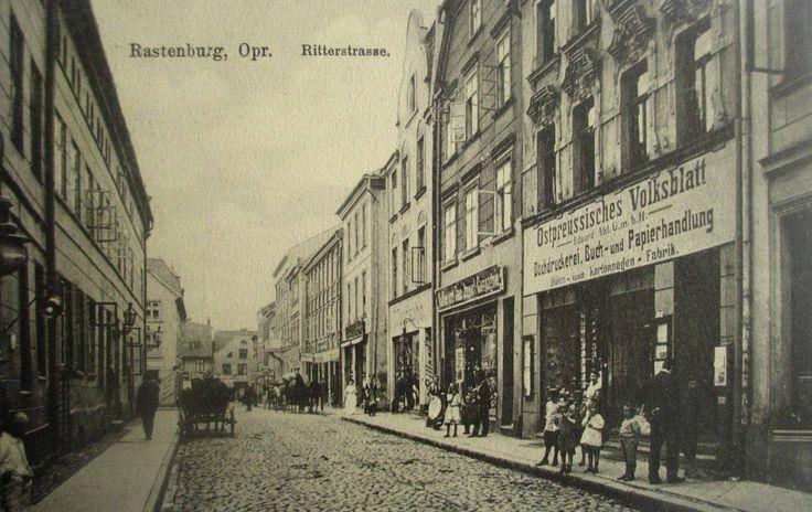Rastenburg, Ostpr. Ritterstrasse. 1914.