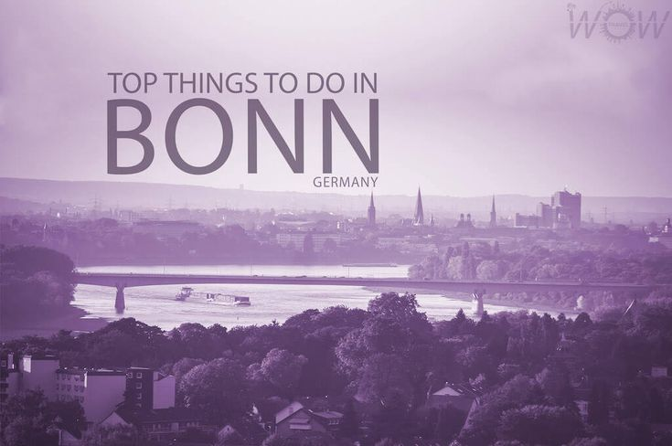 Bonn maintains a cozy, relaxed atmosphere of a small town, featuring a charming old town, many museums and many outdoor cafes and beer gardens.