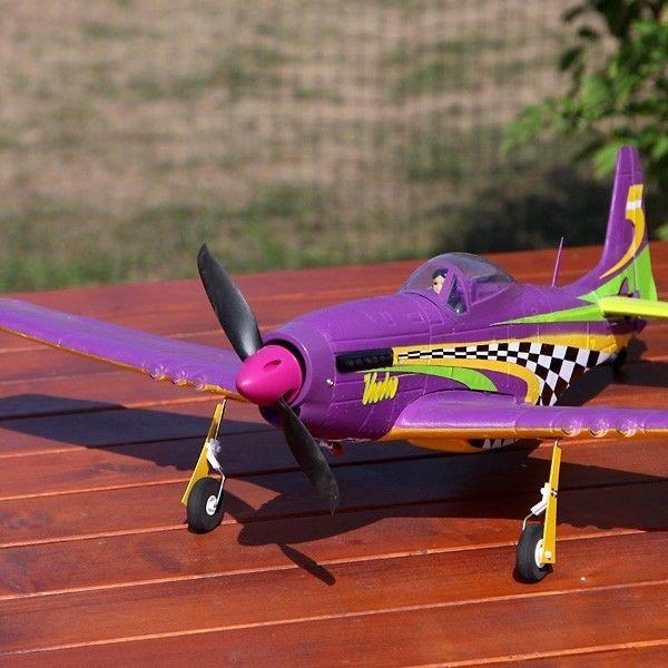 ACME AA4008 P-51 Mustang Voodoo - ARF Kit AirAce Elite RC Flugzeug