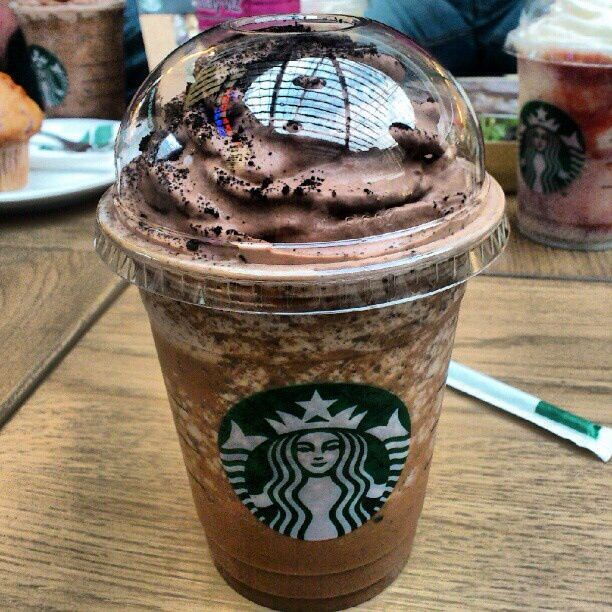 I love making fun of the annoying white girls at mall.. How ever the mocha cookie crumble is the shit! But when I get it I feel the need to be annoying and act like ur typical white bitch. Am I the only one?