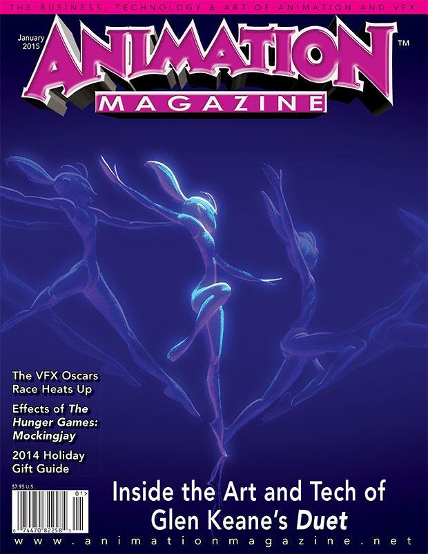Animation Magazine nº 246, Enero 2015