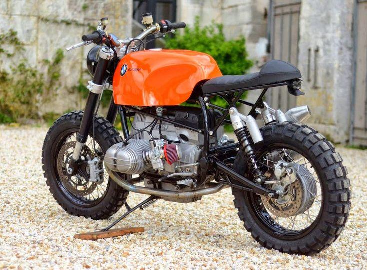 1982 BMW R100 Scrambler - Motorieep #motorcycles #scrambler #motos | caferacerpasion.com