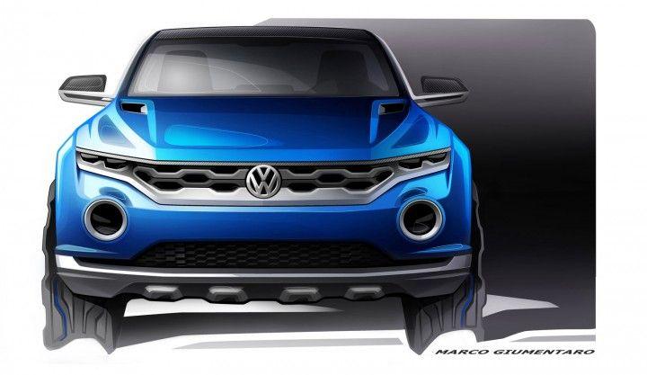 Volkswagen T-ROC Concept - Design Sketch