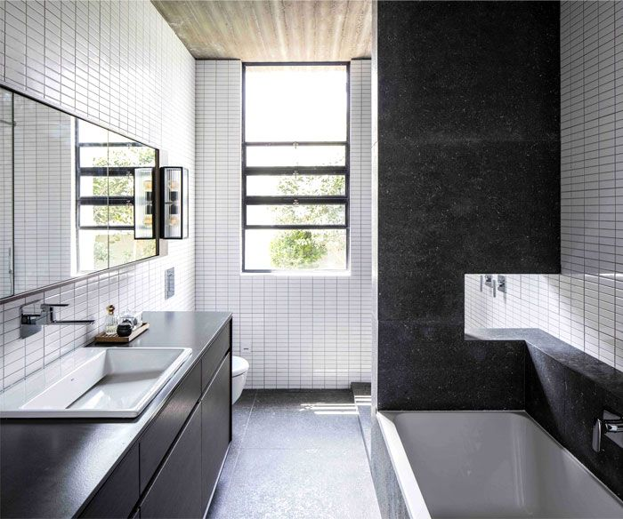 Intriguing Example Of Homes Architects Created To Host Their Family    InteriorZine · Home Design BlogsResidential ArchitectureBathroom ...