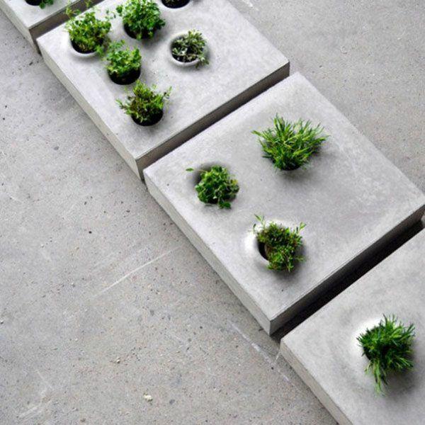 Gartenideen garten bilder gartendekorationen beton
