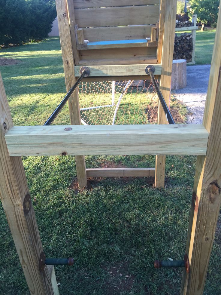 Dip station and modified pull up station. | Outdoor decor ...