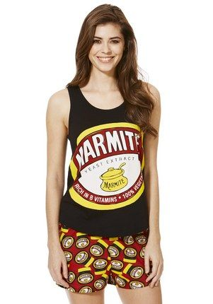 F&F Marmite Shorts Pyjamas at F&F