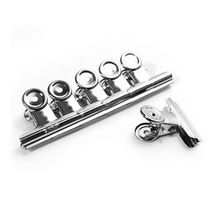 Office tool/kantoor accessoires! 12 stks bindmiddel clip/grip klem/bulldog clips/brief clips/zilver metalen/paperclip maat 22mm(China (Mainland))