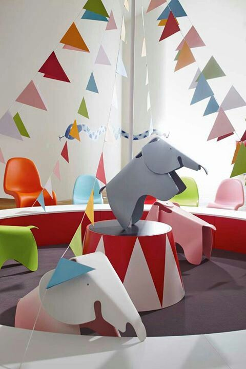 Eames Elephant by Charles and Ray Eames Panton Chair by Verner Panton