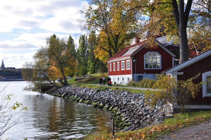 October walk in Stockholm