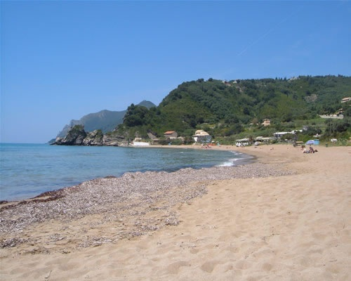 Pelekas Beach, Corfu, Greece
