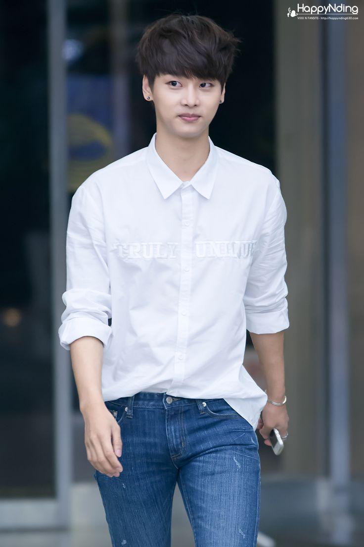 "VIXX   Cha Hakyeon (N)   140612   tumblr   © HappyNding ♡ please do not edit   ""Nice Photo"""
