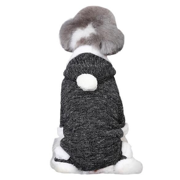 1pcs pet dog cat autumn winter jumpsuits doggy warm soft tracksuits clothes puppy overcoat costume dogs cats rompers clothing