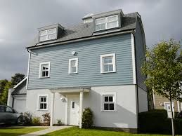 pictures of blue weatherboard houses or barns - Google Search