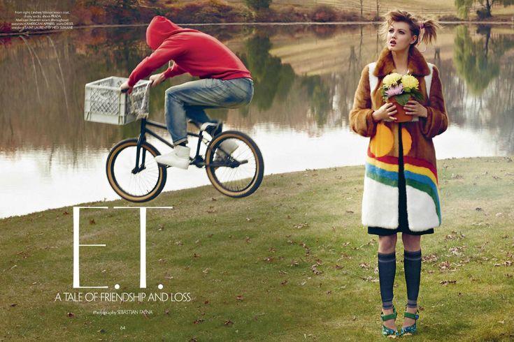 E.T., CR Fashion Book