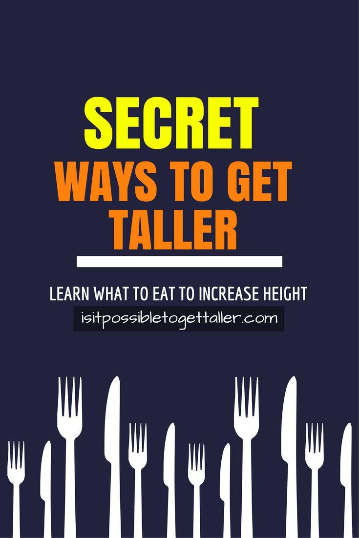 113 best How To Get Taller Fast + Grow Taller Tips ...