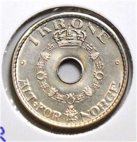 1 krone 1936 kv0