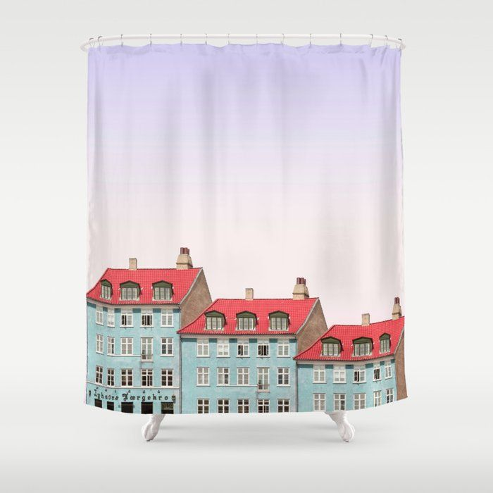Stop Neglecting Bathroom Decor This Shower Curtain Bring A Fresh New Feel To An Overlooked Space Hookless And Extra L In 2020 Curtains Shower Curtain Bathroom Decor